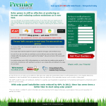 PSP Landing Page Early 2012